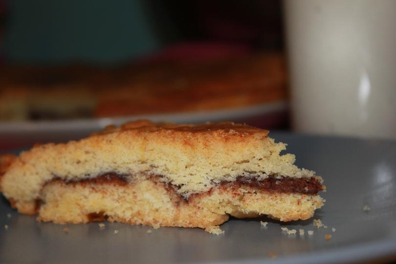 Gateau Basque au Nutella