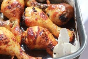 Pignons de Poulet sauce Worcestershire