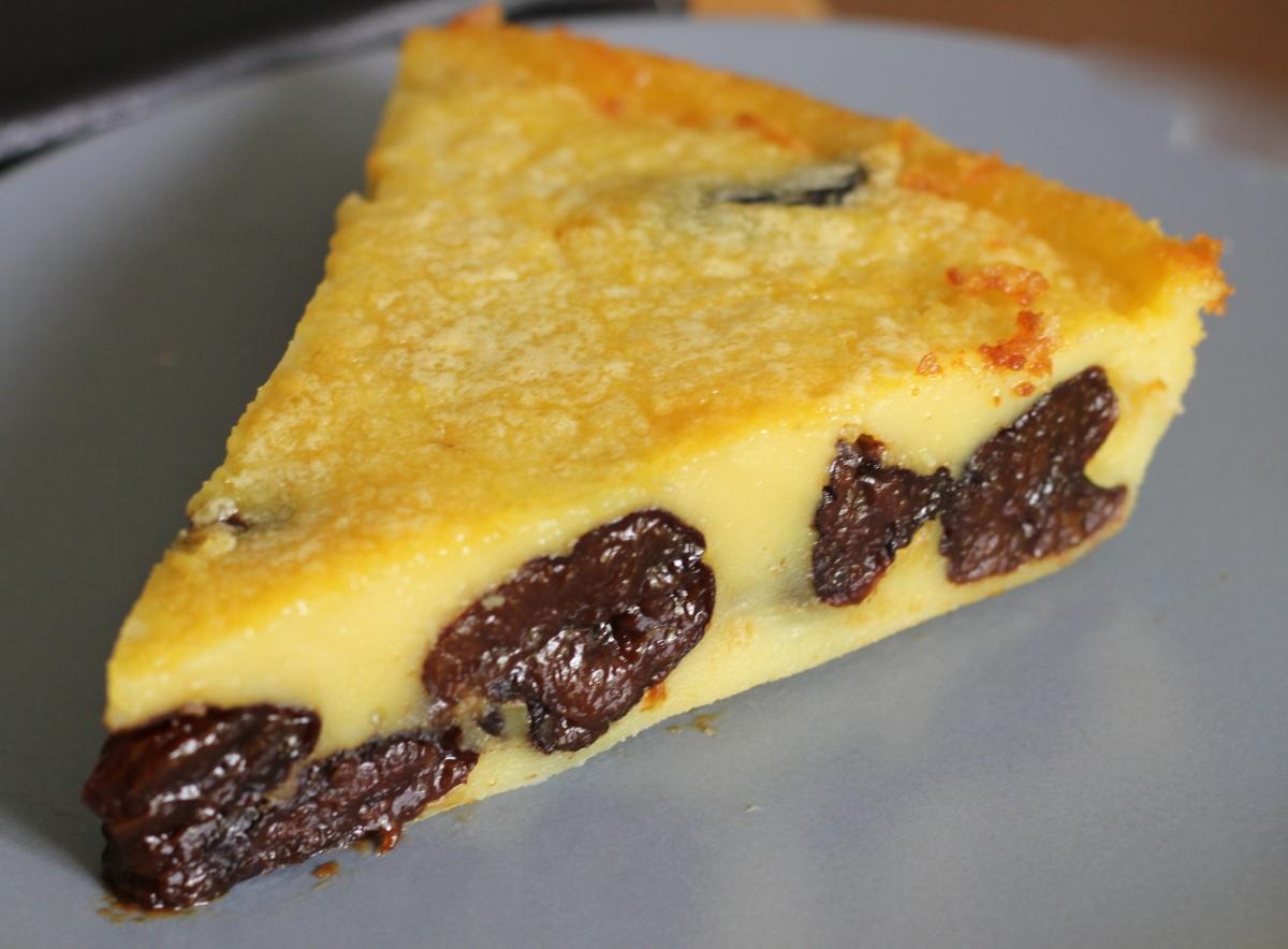 Far breton au beurre salé & aux pruneaux