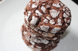 Cookies craquelés Martha Stewart